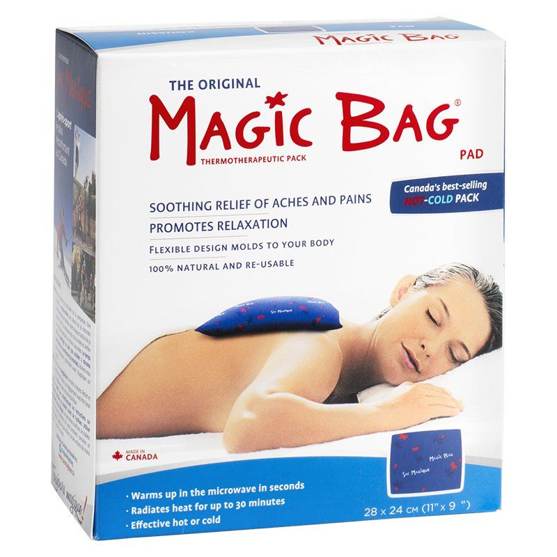 Magic Bag Natural Hot/Cold Pad (Square)