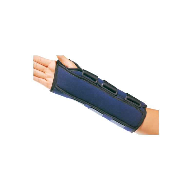 "Neoprene Comfort Cool D-Ring Wrist Splint, Regular 7"" (18cm) - Left, Medium"