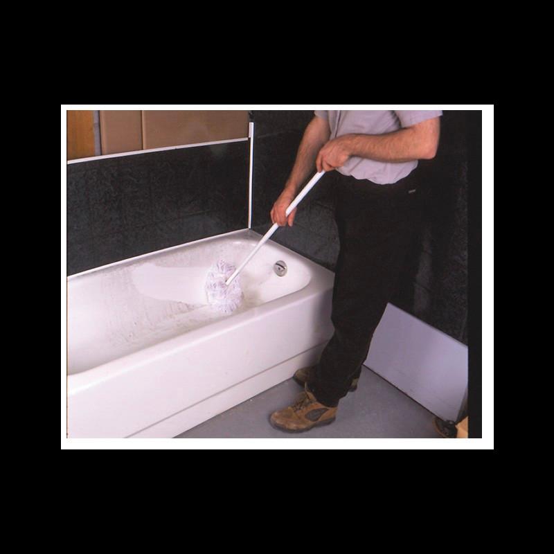 """Long Handled Tub Scrub - 45"""""""