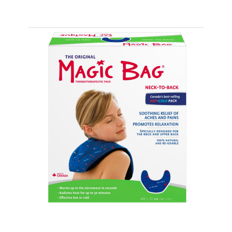 Magic Bag Natural Hot/Cold Pad (Neck to Back)