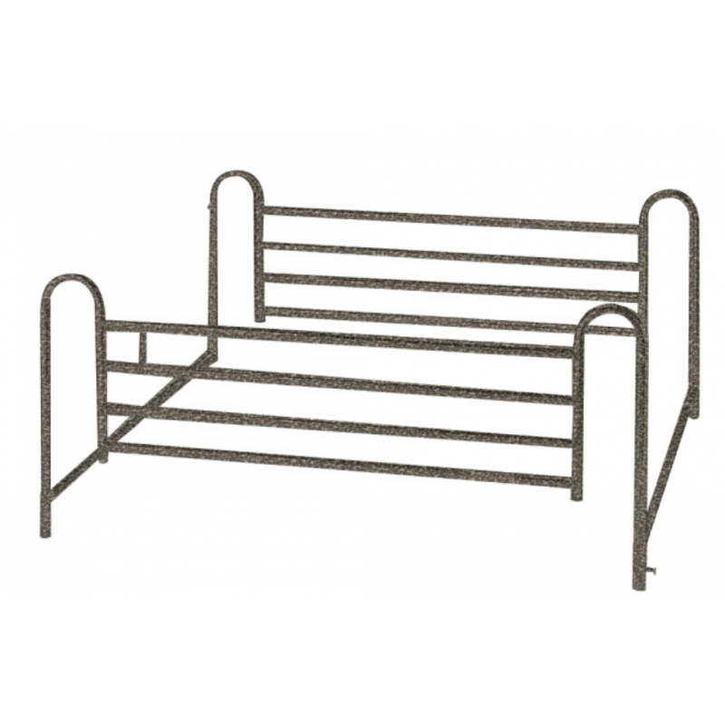 Standard Telescoping Full-Length Bed Side Rail (1 pair)