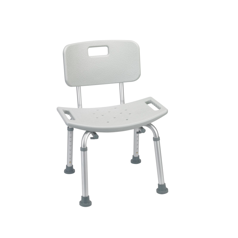 Deluxe Aluminum Shower Chair with Back