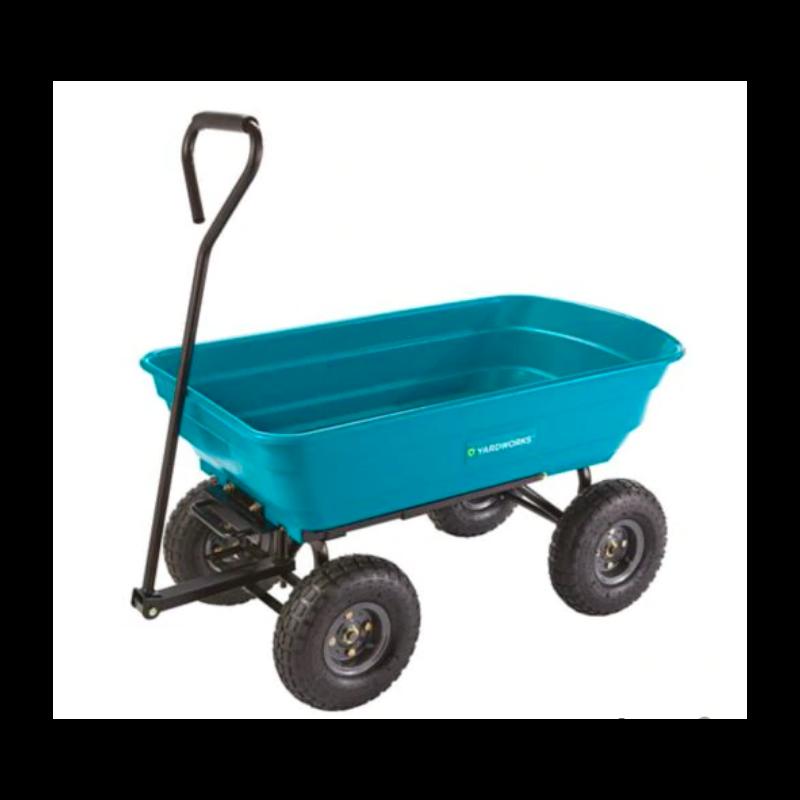 Yardworks Dumping Garden Cart