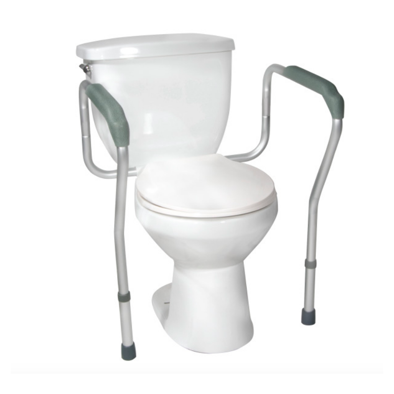 Toilet Safety Frame - w/Padded Arms, Knocked Down