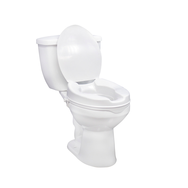 """4"""" Raised Toilet Seat Without Lid"""