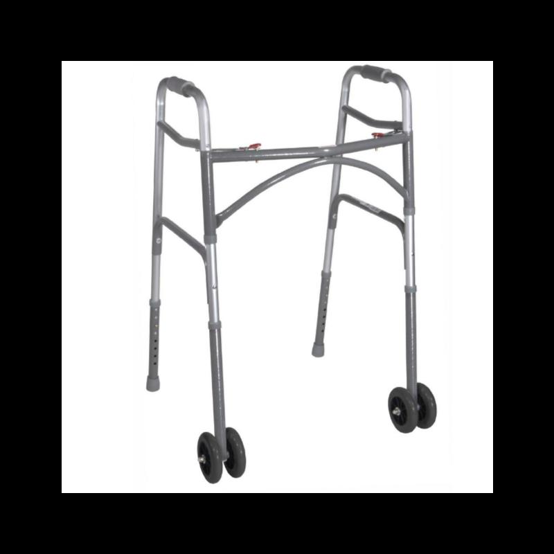 "Heavy Duty Bariatric Walker - Adult (32"" to 39"" High), No Wheels"