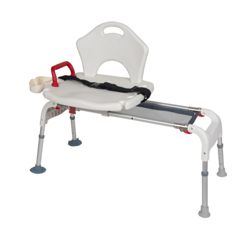Folding Universal Sliding Tub Transfer Bench