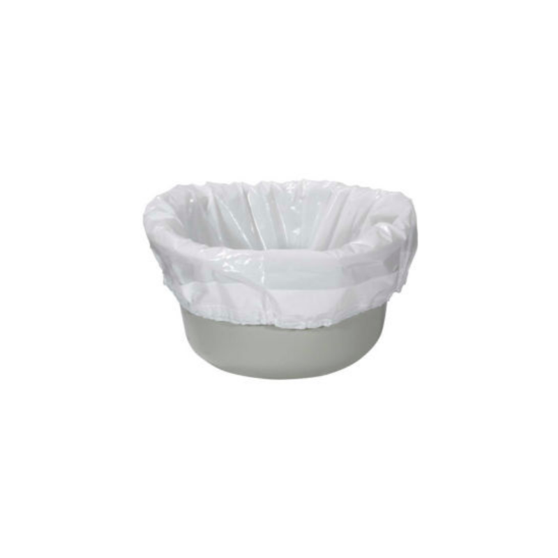Biodegradable Sanitary Bag Commode Pail Liner - 12/box