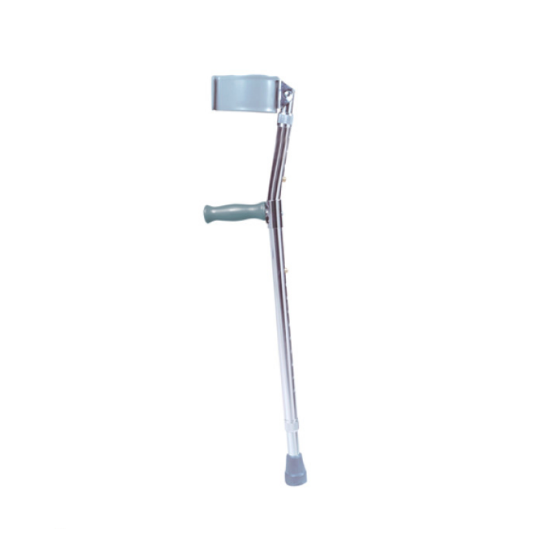 "Steel Forearm Crutches - Adult, 5'0"" to 6'2"""