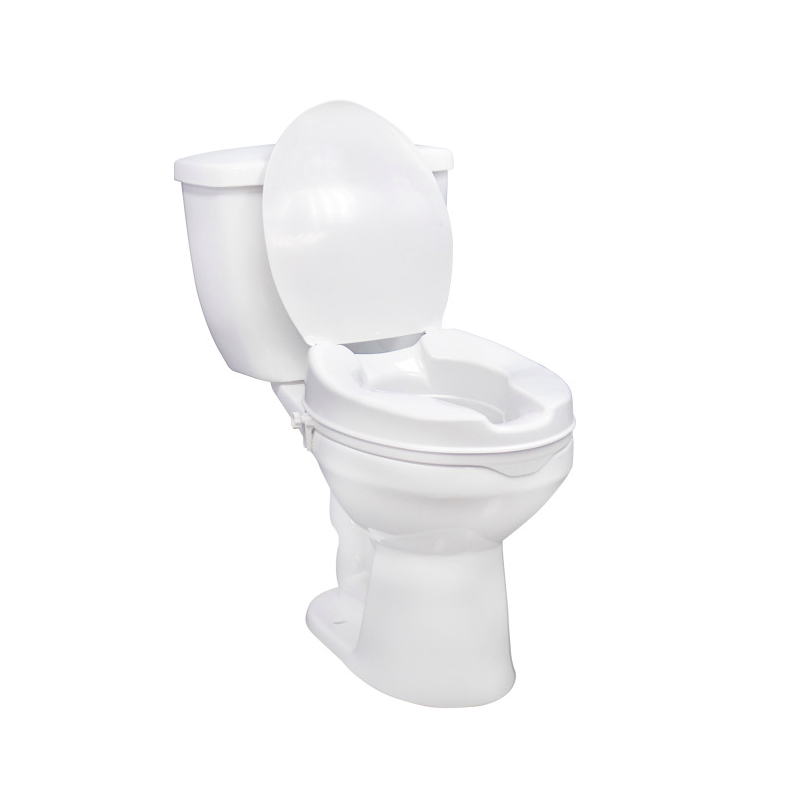 """2"""" Raised Toilet Seat Without Lid"""